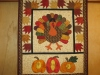 Harvest Time Turkey Wall Hanging