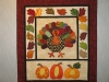 Turkey Harvest Time Wall Hanging